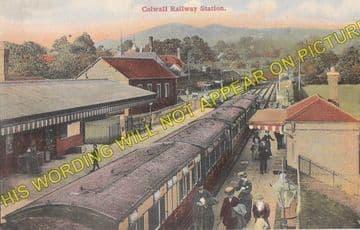 Colwall Railway Station Photo. Great Malvern - Ledbury. Hereford Line. GWR. (3)