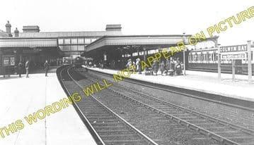 Colwyn Bay Railway Station Photo. Llandudno - Abergele. Conway to Rhyl Line. (1)..