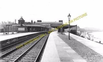 Colwyn Bay Railway Station Photo. Llandudno - Abergele. Conway to Rhyl Line. (2)