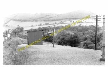 Commins Goch Railway Station Photo. Cemmes Road - Llanbrynmair. (1)