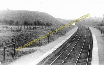 Commondyke Railway Station Photo. Auchinleck - Lugar. Cronberry Line. G&SWR. (1)..