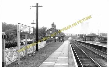 Connah's Quay Railway Station Photo. Flint - Shotton. Chester Line. L&NWR. (1)..