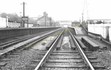 Connah's Quay Railway Station Photo. Flint - Shotton. Chester Line. L&NWR. (4)