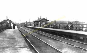 Connah's Quay Railway Station Photo. Flint - Shotton. Chester Line. L&NWR. (5)