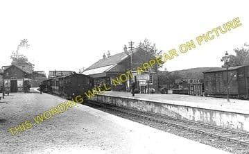 Connel Ferry Railway Station Photo. Taynuilt to Oban and Benderloch Lines. (1)..