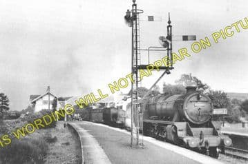 Connel Ferry Railway Station Photo. Taynuilt to Oban and Benderloch Lines. (7)