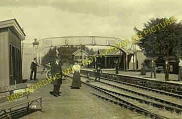 Conon Railway Station Photo. Muir of Ord - Dingwall. Highland Railway. (6)