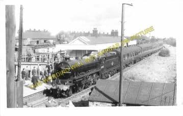 Consett Railway Station Photo. Leadgate - Rowley. Annfield Plain Line. (1)