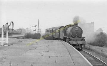 Consett Railway Station Photo. Leadgate - Rowley. Annfield Plain Line. (3)