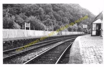 Conwil Railway Station Photo. Bronwydd Arms - Llanpumpsaint. Carmarthen Line (4)