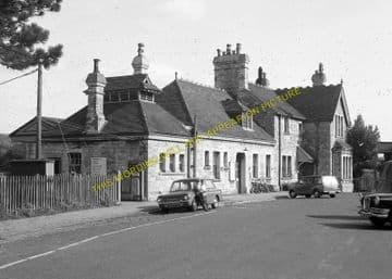 Corfe Castle Railway Station Photo. Wareham to Swanage Line. L&SWR. (11)