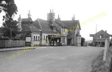 Corfe Castle Railway Station Photo. Wareham to Swanage Line. L&SWR. (14)