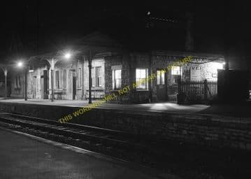Corfe Castle Railway Station Photo. Wareham to Swanage Line. L&SWR. (16)