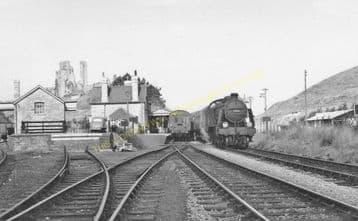 Corfe Castle Railway Station Photo. Wareham to Swanage Line. L&SWR. (25)