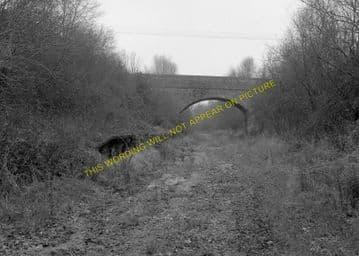 Corfe Mullen Railway Station Photo. Broadstone - Bailey Gate. S&DJR. (5)