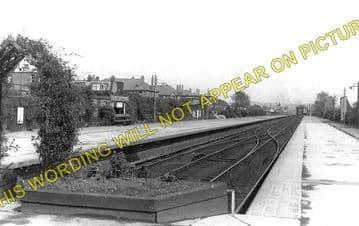 Corstorphine Railway Station Photo. Edinburgh Line. North British Railway. (1)..