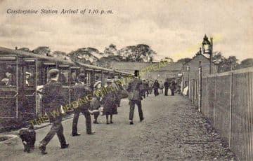 Corstorphine Railway Station Photo. Edinburgh Line. North British Railway. (6)