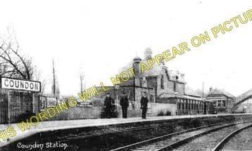 Coundon Railway Station Photo. Bishop Auckland - Byers Green. Cornforth Line (1)..