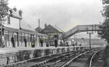 Coundon Railway Station Photo. Bishop Auckland - Byers Green. Cornforth Line (2)