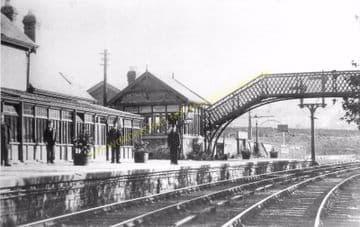 Coundon Railway Station Photo. Bishop Auckland - Byers Green. Cornforth Line (3)