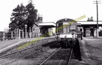 County School Railway Station Photo. North Elmham to Ryburgh and Foulsham. (3)