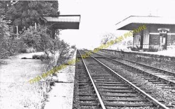 County School Railway Station Photo. North Elmham to Ryburgh and Foulsham. (4)