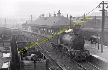 Cowlairs Railway Station Photo. Glasgow - Bishopbriggs. North British Rly. (1)..