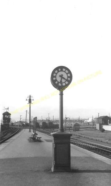 Cowlairs Railway Station Photo. Glasgow - Bishopbriggs. North British Rly. (3)