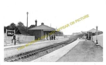 Cowley Railway Station Photo. West Drayton - Uxbridge. Great Western Railway (1)..