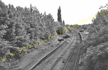 Cowley Railway Station Photo. West Drayton - Uxbridge. Great Western Railway (3)
