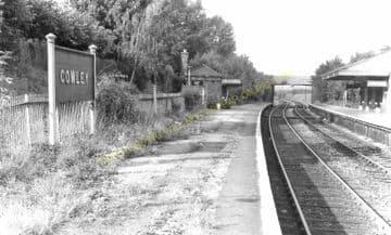 Cowley Railway Station Photo. West Drayton - Uxbridge. Great Western Railway (4)