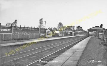 Cowley Railway Station Photo. West Drayton - Uxbridge. Great Western Railway (7)
