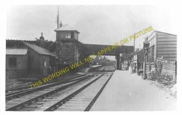 Coxhoe Bridge Railway Station Photo. West Cornforth - Trimdon. Wingate Line. (1)