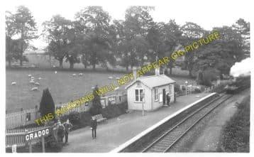 Cradoc Railway Station Photo. Brecon - Aberbran. Devynock and Cray Line. (1)..