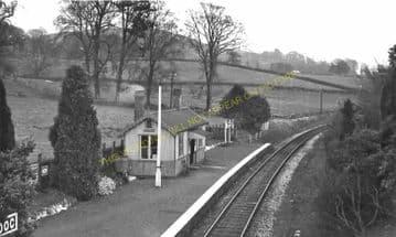 Cradoc Railway Station Photo. Brecon - Aberbran. Devynock and Cray Line. (3)