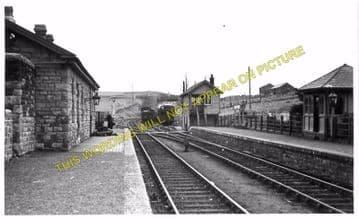Craig y Nos Railway Station Photo. Penwyllt. Colbren - Cray. Neath & Brecon. (2)