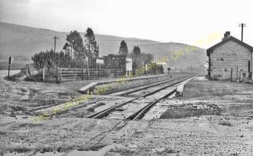 Craig y Nos Railway Station Photo. Penwyllt. Colbren - Cray. Neath & Brecon. (4)