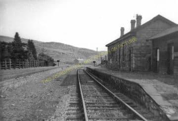 Craig y Nos Railway Station Photo. Penwyllt. Colbren - Cray. Neath & Brecon. (6)