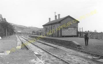 Craig y Nos Railway Station Photo. Penwyllt. Colbren - Cray. Neath & Brecon. (9)