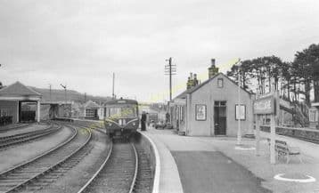 Craigellachie Railway Station Photo. Dufftwon to Dandaleith and Aberlour. (10)