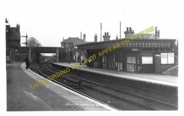 Cranley Gardens Railway Station Photo. Highgate - Muswell Hill. GNR. (10)