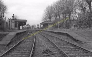 Cranley Gardens Railway Station Photo. Highgate - Muswell Hill. GNR. (17)