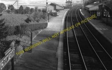 Crawford Railway Station Photo. Elvanfoot - Abington. Beattock to Lamington. (1)..