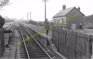 Cray Railway Station Photo. Colbren - Devynock & Sennybridge. Neath & Brecon (3)