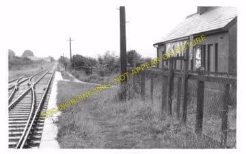 Cray Railway Station Photo. Colbren - Devynock & Sennybridge. Neath & Brecon (4)