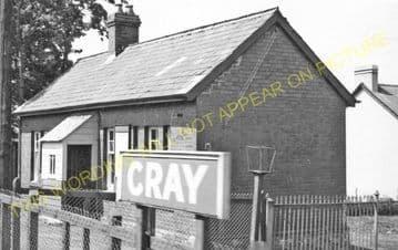 Cray Railway Station Photo. Colbren - Devynock & Sennybridge. Neath & Brecon. (5)