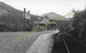 Creagan Railway Station Photo. Benderloch - Appin. Connel Ferry Line. (3)