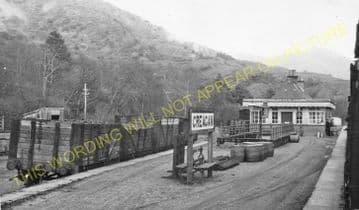 Creagan Railway Station Photo. Benderloch - Appin. Connel Ferry Line. (4)