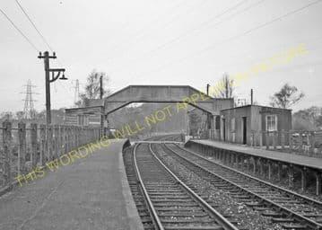 Creekmoor Railway Station Photo. Broadstone - Poole. Bournemouth Line (2)