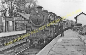 Creetown Railway Station Photo. Gatehouse of Fleet -Palnure. (3)